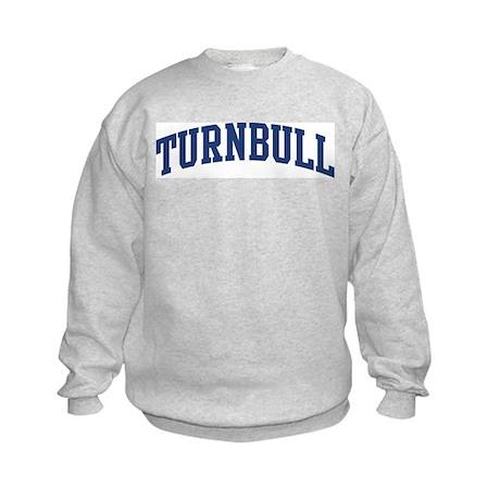 TURNBULL design (blue) Kids Sweatshirt