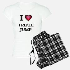 I Love Triple Jump Pajamas