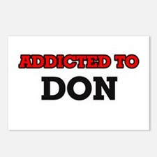Addicted to Don Postcards (Package of 8)