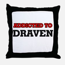 Addicted to Draven Throw Pillow