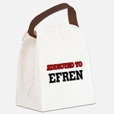 Addicted to Efren Canvas Lunch Bag