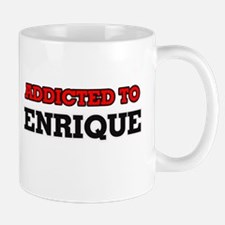 Addicted to Enrique Mugs