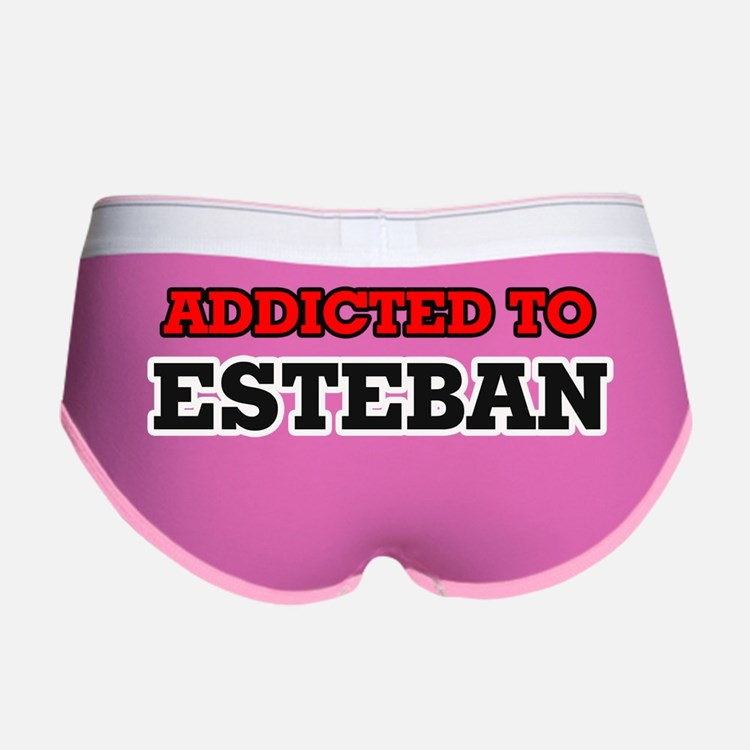 Cute I love esteban Women's Boy Brief