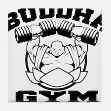 Buddha Gym Tile Coaster
