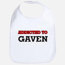 Addicted to Gaven Bib