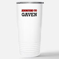 Addicted to Gaven Stainless Steel Travel Mug