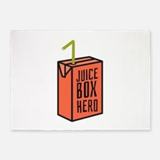 Juice Box Hero 5'x7'Area Rug