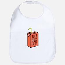 Juice Box Hero Bib