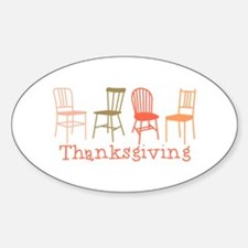 Thanksgiving Chairs Decal