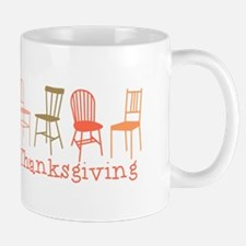 Thanksgiving Chairs Mugs