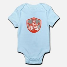 Jack of All Trades Crest Retro Body Suit