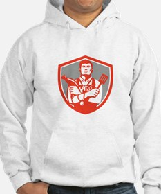 Jack of All Trades Crest Retro Hoodie