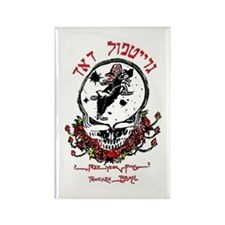 Deadhead Israel Rectangle Magnet