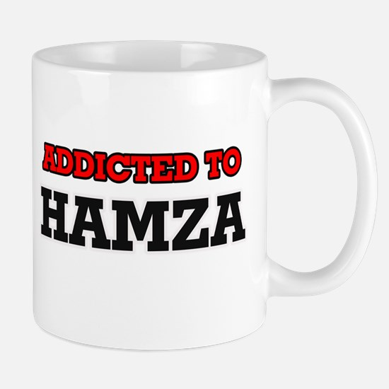 Addicted to Hamza Mugs