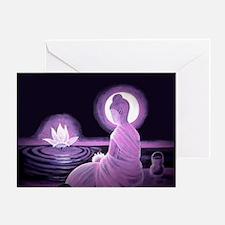 Cool Thai yoga Greeting Card