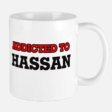 Addicted to Hassan Mugs