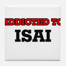 Addicted to Isai Tile Coaster
