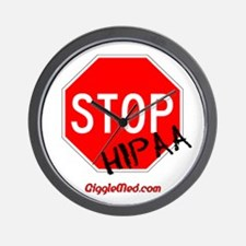 Stop HIPAA Wall Clock