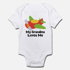 Personalized Grandma Loves Me Body Suit