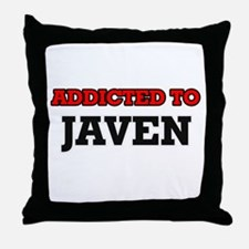 Addicted to Javen Throw Pillow