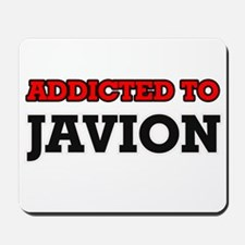 Addicted to Javion Mousepad