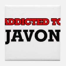 Addicted to Javon Tile Coaster
