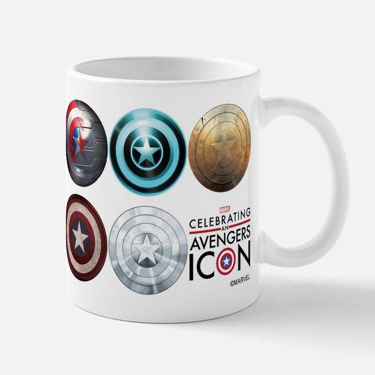 Captain America 75th Anniversary Twelve Mug