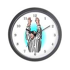 Sports Referee Wall Clock