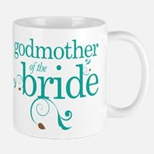 Godmother Of The Bride gift Mugs