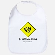 C. diff Crossing Sign 01 Bib