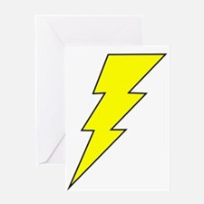 The Lightning Bolt 8 Shop Greeting Card