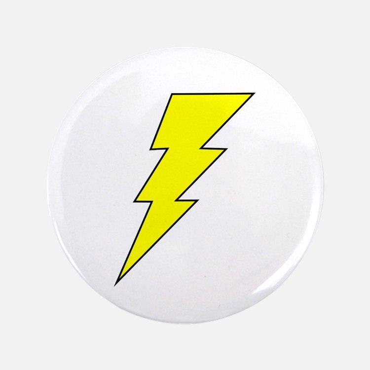 """The Lightning Bolt 8 Shop 3.5"""" Button"""