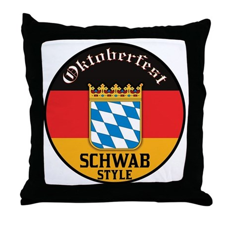 Schwab Oktoberfest Throw Pillow