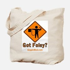 Foley Flagger Sign Tote Bag