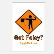 Foley Flagger Sign Postcards (Package of 8)