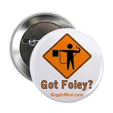 """Foley Flagger Sign 2.25"""" Button"""