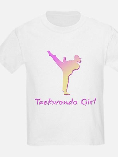 Taekwondo Girl 2 T-Shirt