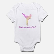 Taekwondo Girl 2 Infant Bodysuit