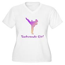 Taekwondo Girl 1 T-Shirt