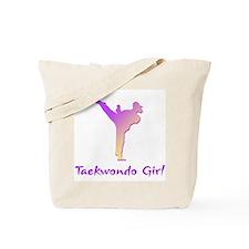 Taekwondo Girl 1 Tote Bag