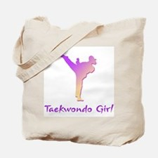 Taekwondo Girl 1 Tote Bag