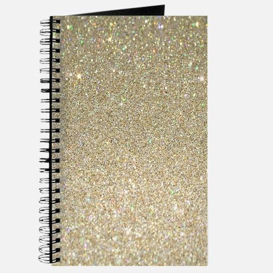 art deco gold glitter Journal