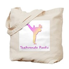 Taekwondo Rocks 1 Tote Bag