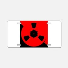 Reel of Tape Aluminum License Plate