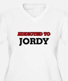 Addicted to Jordy Plus Size T-Shirt