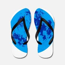 Full Blue Moon Flip Flops