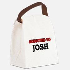 Addicted to Josh Canvas Lunch Bag