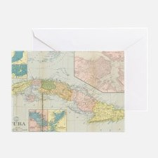 Cute Vintage cuba Greeting Card