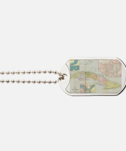 Cute Cuba Dog Tags