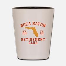 Unique Boca raton Shot Glass
